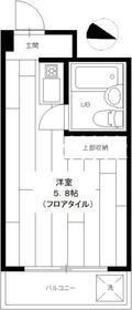 小金井ハイツ・107号室の間取り