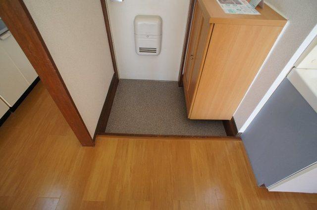 グリーンゲイブル 02020号室の玄関