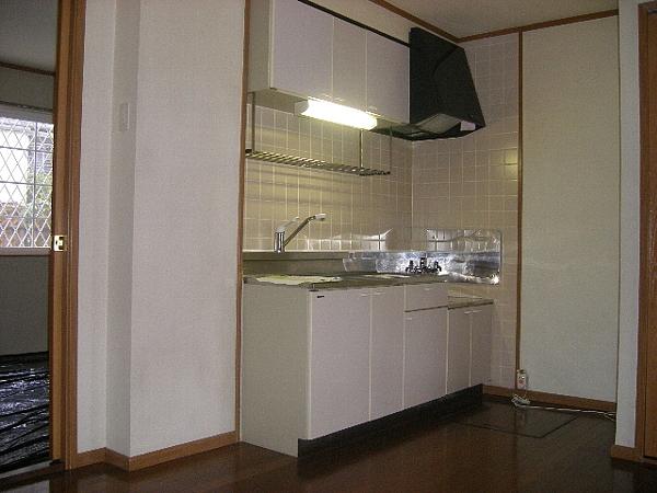 サンフラワーPartⅠ 01030号室のキッチン