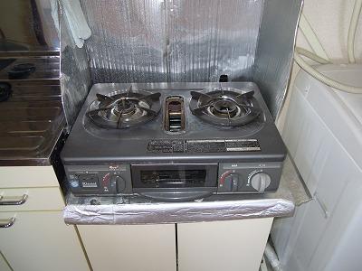 第2あずみの荘 201号室のキッチン