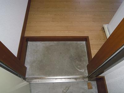 第2あずみの荘 201号室の玄関