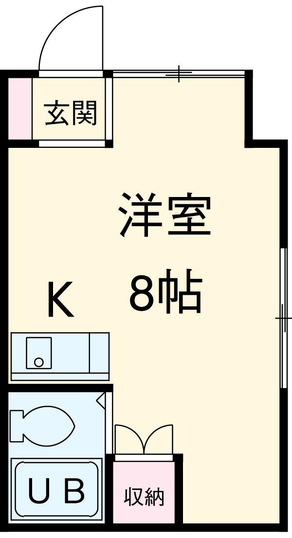 三澤ハイツ 305号室の間取り