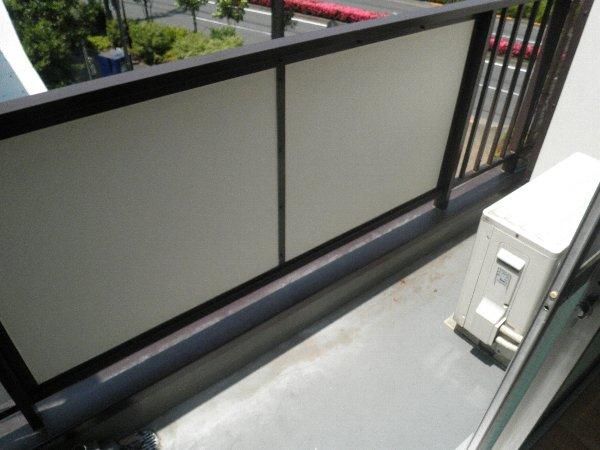 中川ビル 203号室のバルコニー
