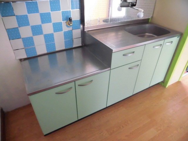 コーポサンライズ 202号室のキッチン