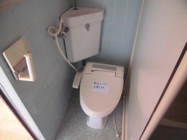 コーポサンライズ 202号室のトイレ
