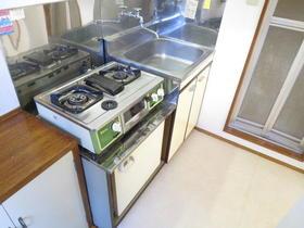 シャガール 202号室のキッチン