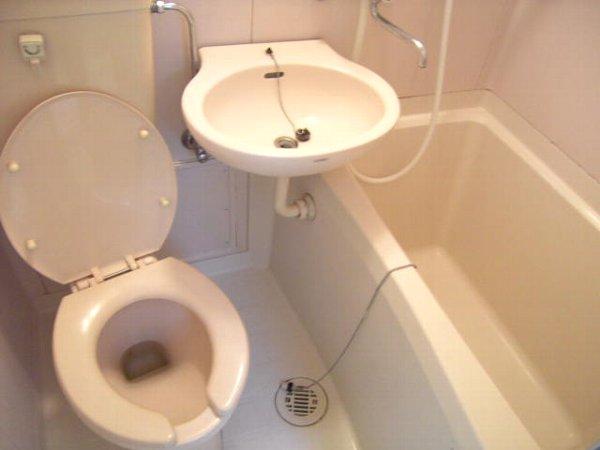 やまびこハイツ1号 203号室の風呂