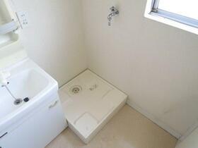 松本マンション 302号室の洗面所