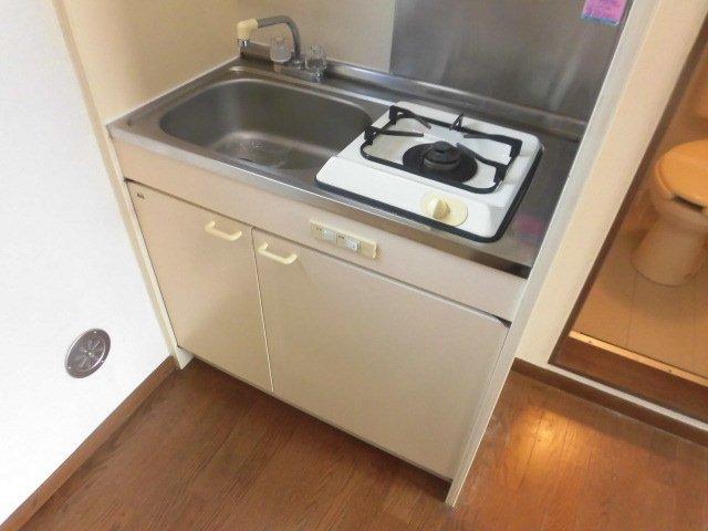 カーサ1/F 202号室のキッチン