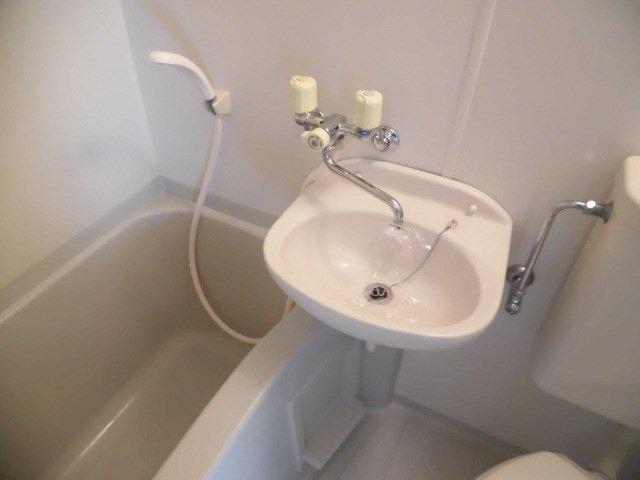 カーサ1/F 202号室の洗面所