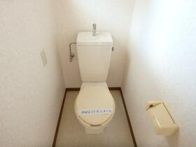 ニューつくばコーポ 0202号室のトイレ
