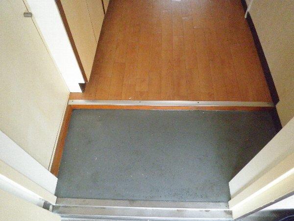 中川ビル 202号室の玄関