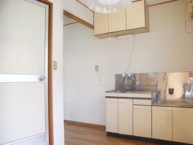 もみじ荘 201号室のキッチン