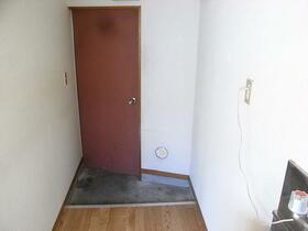 もみじ荘 201号室の玄関