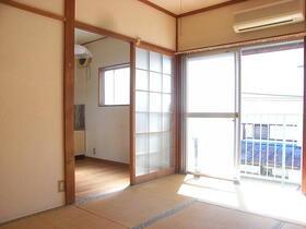 もみじ荘 201号室のリビング