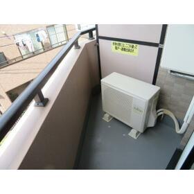 ハイグレイス・T 0605号室のバルコニー