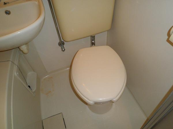 ハイツアカシア 201号室のトイレ