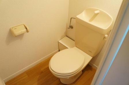 レオパレスT.HOUSE 201号室のトイレ