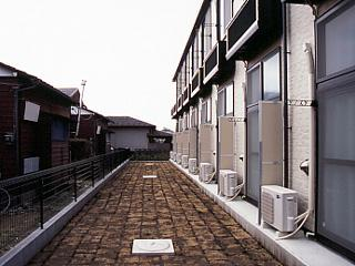 レオパレス小柳町Ⅱ 105号室のエントランス