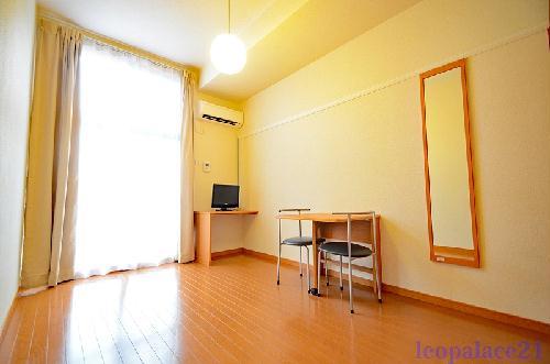 レオパレスエクレシアハイツ 205号室のリビング