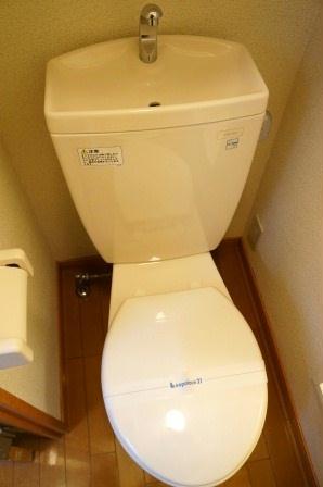レオパレス綿新 304号室のトイレ