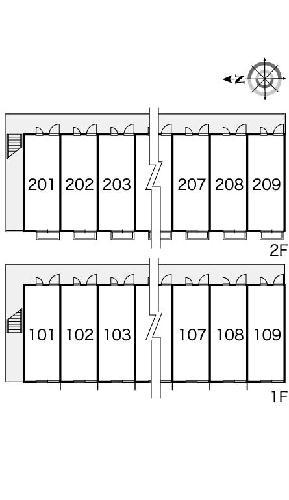 レオパレス真 109号室の設備
