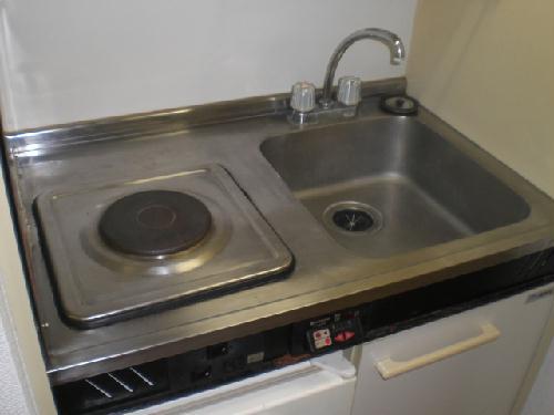 レオパレスBelle demeure 201号室のキッチン