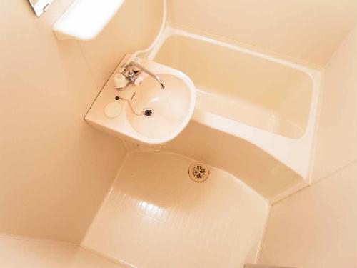 レオパレスBelle demeure 201号室の風呂