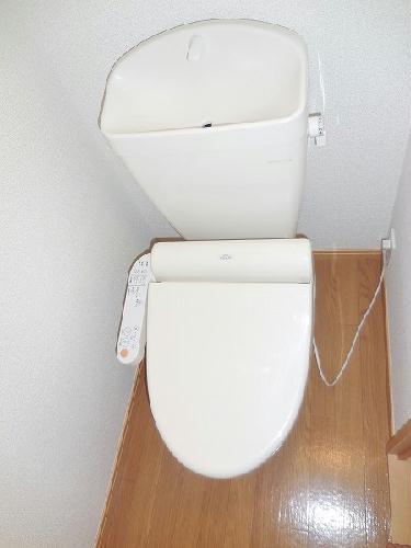 レオパレスこやなぎ 206号室のトイレ