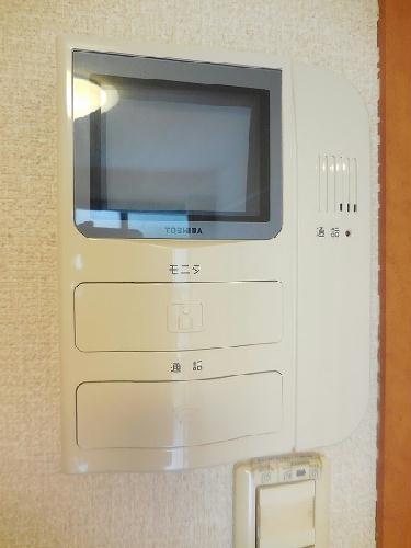 レオパレスクレスト 206号室のセキュリティ