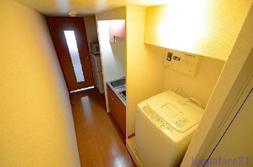 レオパレスクレスト 206号室のトイレ