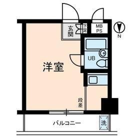 サンパーク東京銀座・0502号室の間取り