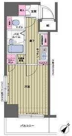 トーシンフェニックス日本橋三越前・701号室の間取り