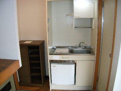 マ・シャンブル 201号室のキッチン