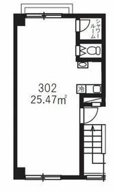 VANN AMOR(ヴァンアモール)・302号室の間取り