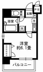 Empereur Beton Tokyo・701号室の間取り