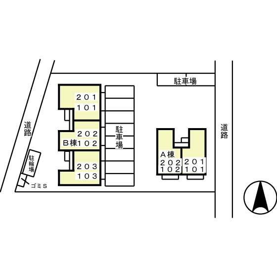 ホープシティA・B A201号室のその他