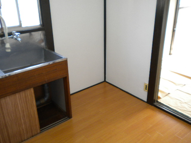 遠藤荘 201号室の洗面所