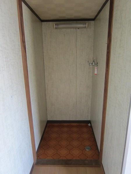 川崎荘 202号室のバルコニー