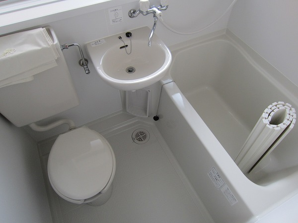 川崎荘 202号室の風呂