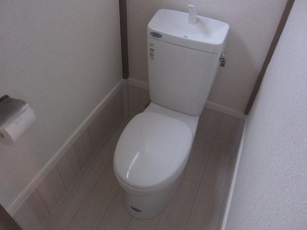 光コーポ 103号室のトイレ