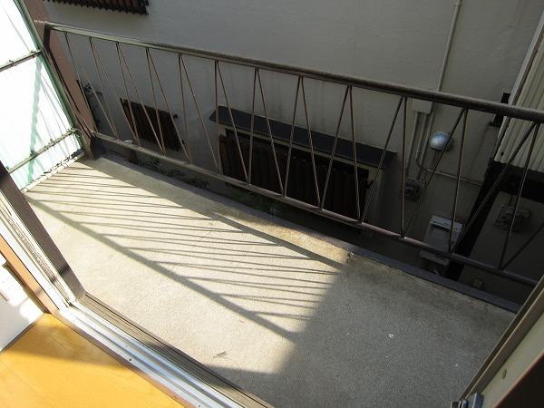光コーポ 103号室のバルコニー