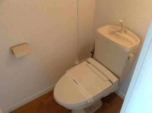 レオパレス内田 203号室のトイレ