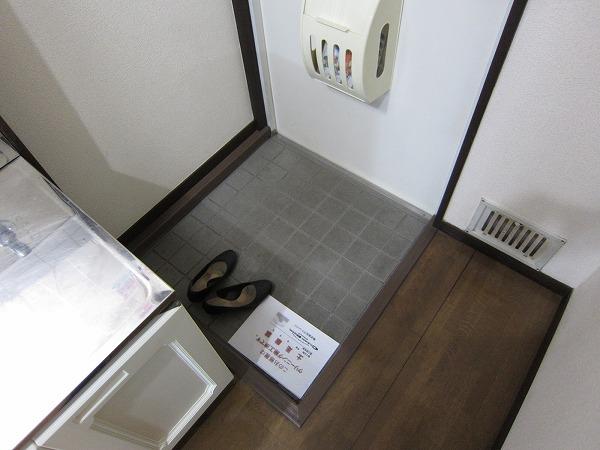 サントピア21 101号室の玄関