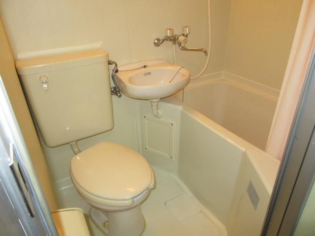 ブルースカイ 205号室の風呂