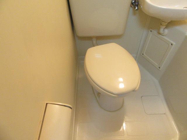 ブルースカイ 205号室のトイレ