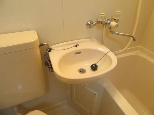 ブルースカイ 205号室の洗面所