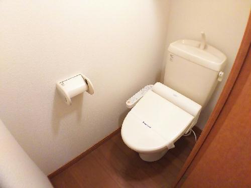 レオパレスレウニール 202号室のトイレ