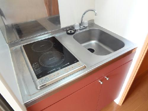 レオパレスKIT'S 103号室のキッチン