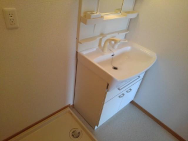 ピュア・シャンティ 01010号室の洗面所